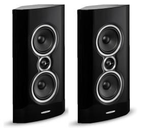 Sonus faber Sonetto Wall czarny. Kolumna surround.