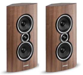 Sonus faber Sonetto Wall orzech. Kolumna surround.