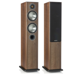 Monitor Audio Bronze 5 walnut. Kolumna podłogowa. (OUTLET).